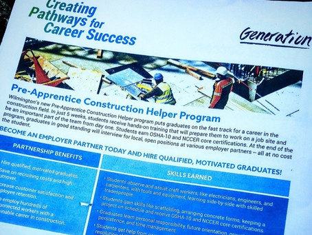 Generation Pre-Apprentice Construction Course featured on 6 ABC