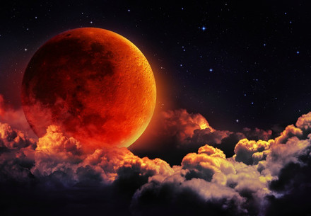 THE LUNAR ECLIPSE IS COMING!