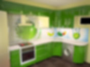 Фартук кухня фотопечать