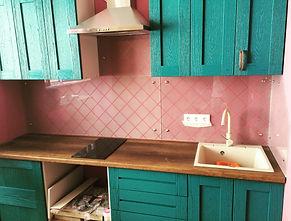 Фотопечать на кухонном фартуке г. Краснодар
