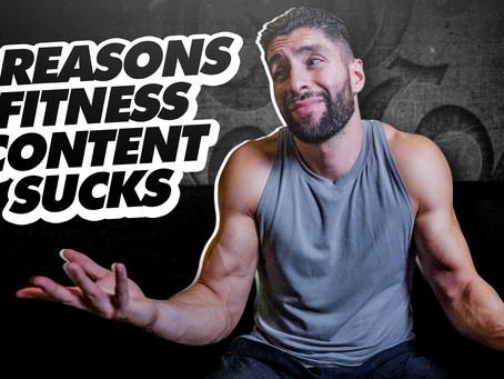 2 Reasons Fitness Content Sucks   Beginners Start Here