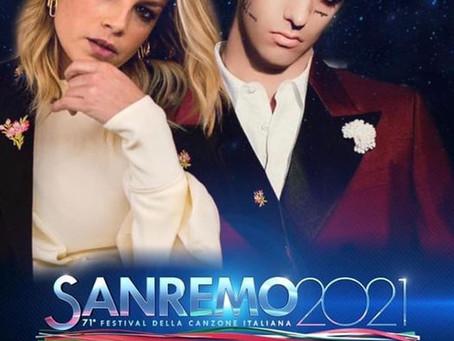 Emma Sanremo 2021 con Achille Lauro