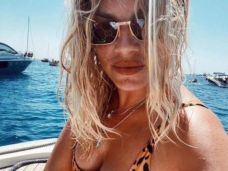 Emma à la mer