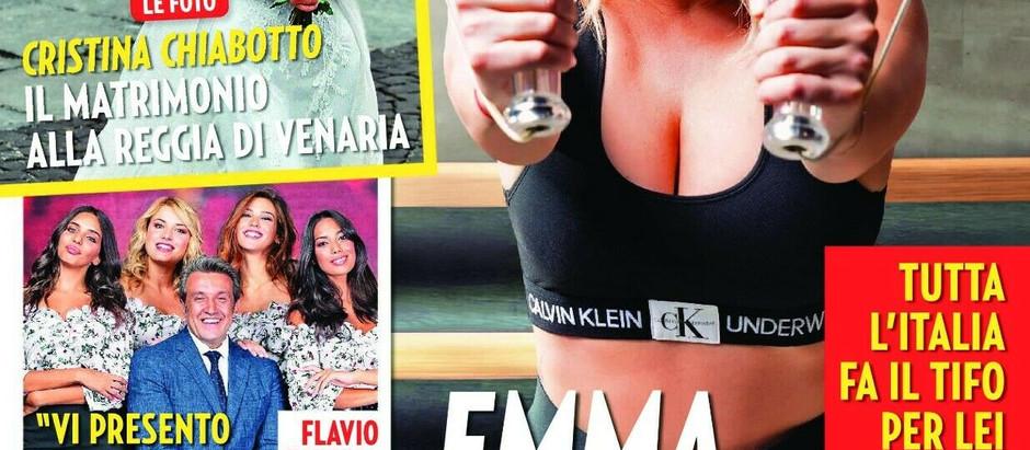 """Emma fa la copertina di """"Gente"""" 5 10 2019"""