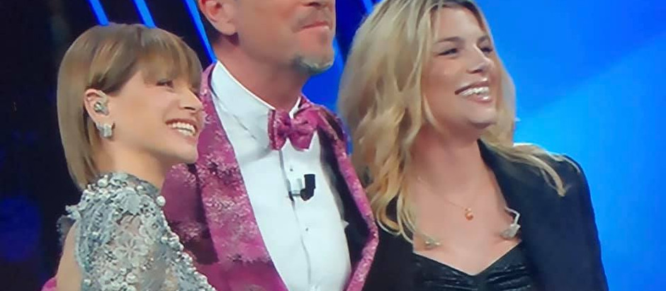 Emma e Alessandra a Sanremo
