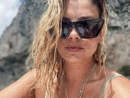 Emma in vacanza al mare