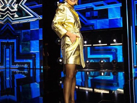 """Emma sur le plateau de """"X Factor"""""""