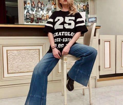 Emma en répétions pour Sanremo 2021