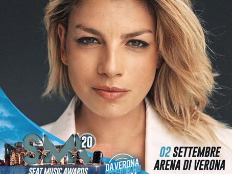 2 09 2020 Emma su Rai 1 in diretta di Verona