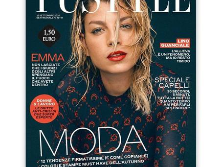 Emma in copertina di Tustyle