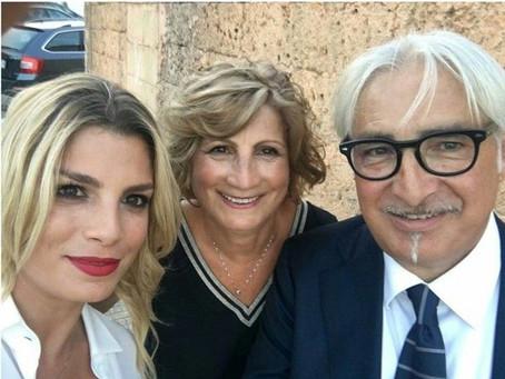 Emma con i genitori/avec ses parents