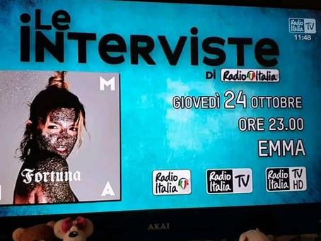 Radio Italia 24 ottobre 2019/24 octobre 2019
