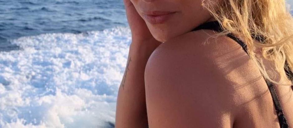 Emma al mare a Positano