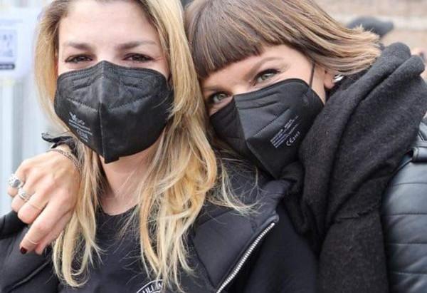 Emma e Alessandra manifestano a Roma 17 aprile 2021