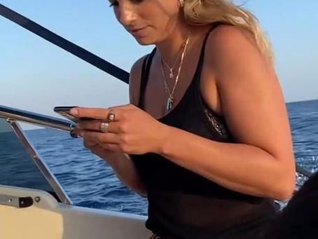 Emma a Positano