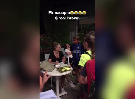 Emma Marrone adorabile con il nipote Marchino