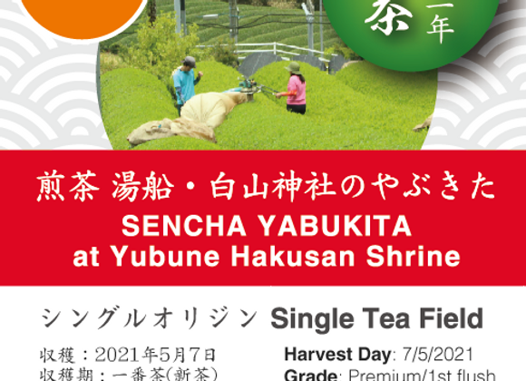 2021 Sencha First Flush: Yabukita - Yubune Hakusan Shrine