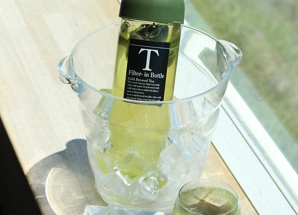 Filter-in-tea bottle (For cold brew sencha)