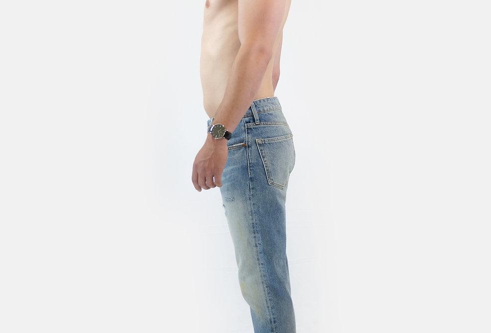 SUPERDRY - Jeans taper Forsyth light blue