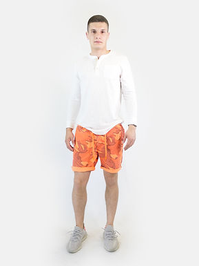 SUPERDRY - Pantaloncino sunscorched fluo coral camo