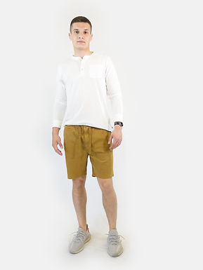 SUPERDRY - Pantaloncino sunscorched chino ukon gold