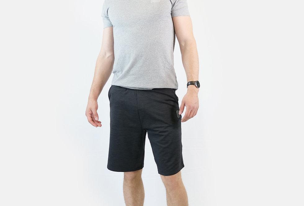 SUPERDRY - Flex heather shorts black