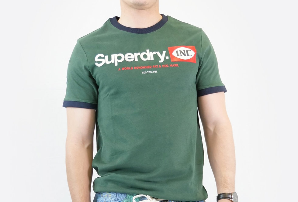 SUPERDRY - CL AC ringer tee