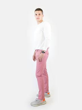 SUPERDRY - Pantalone canyon pink