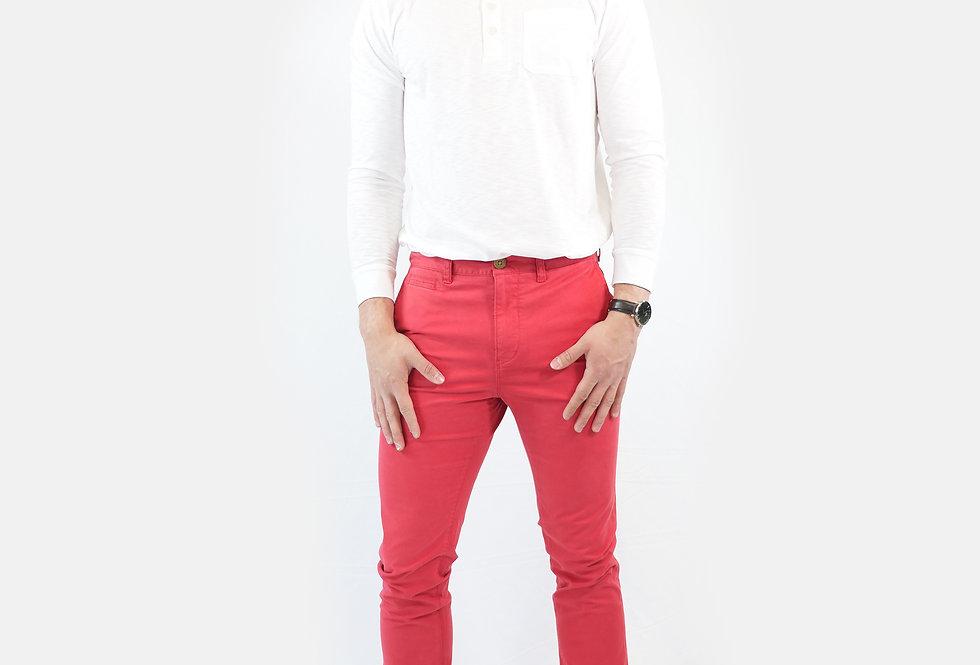 SUPERDRY - Pantalone core slim chino