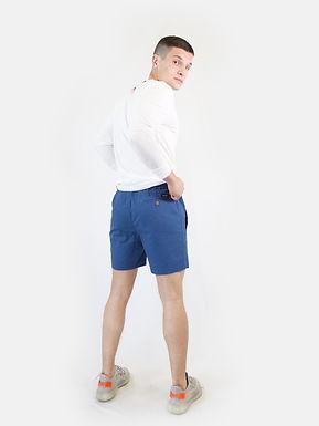 SUPERDRY -Pantaloncino edit drawstring prussian blue