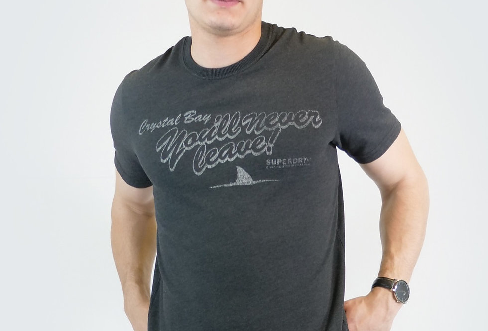 SUPERDRY - Black out tee t-shirt