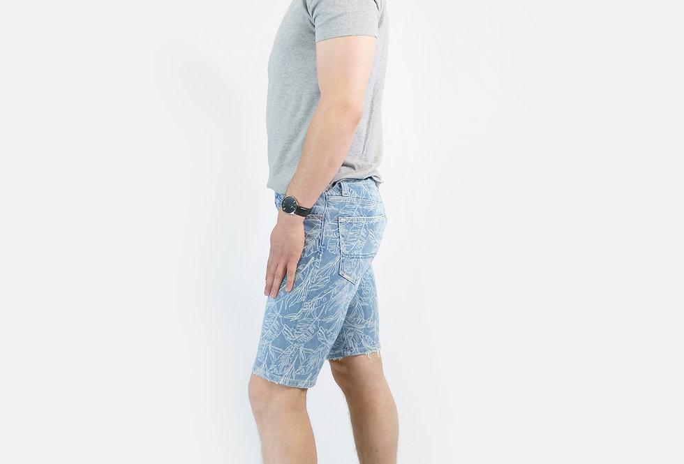 SUPERDRY - Pantaloncino tyler slim senoran blue