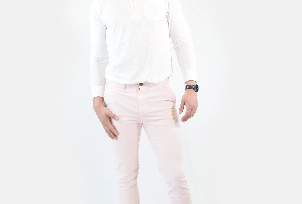 SUPERDRY - Pantalone cotone crystal pink