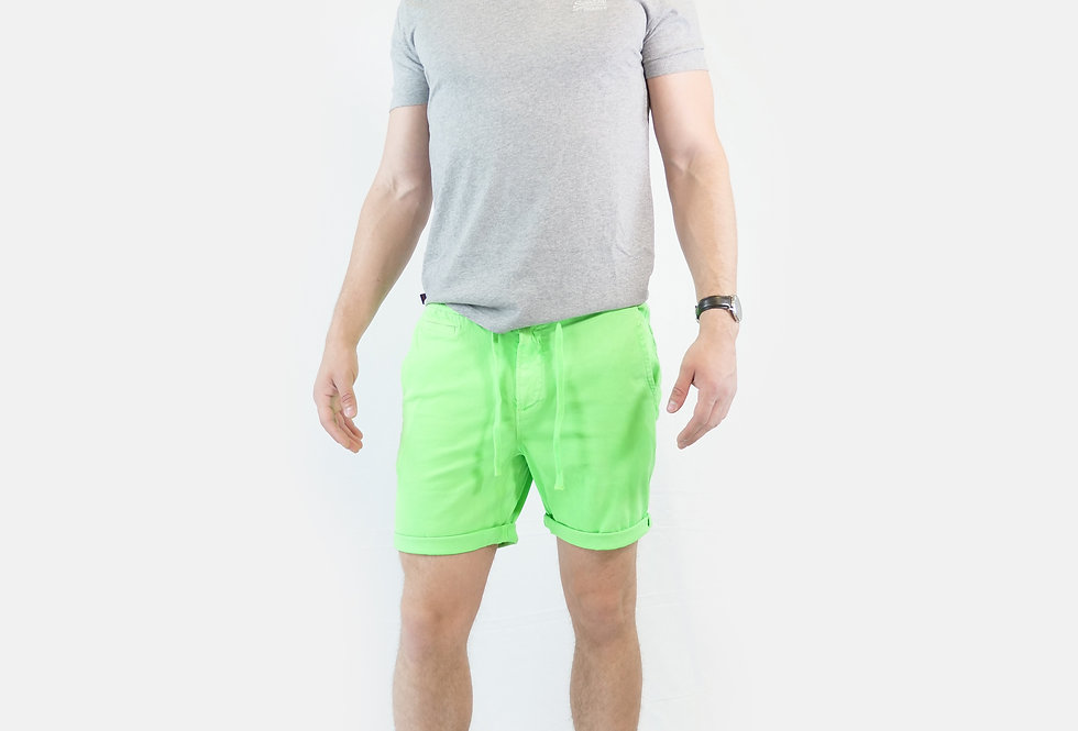SUPERDRY - Sunscorched chino short fluo green