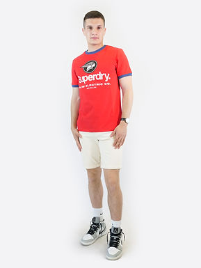 SUPERDRY - CL AC ringer tee t-shirt