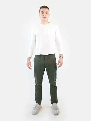 SUPERDRY - Officers slim chino