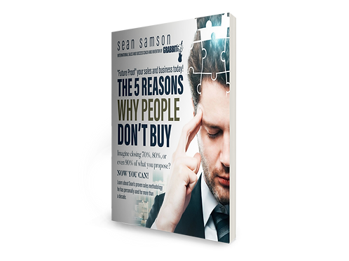 The 5 Reasons Why People Don't Buy