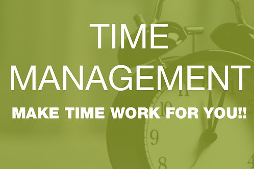 Free Time Management eBook