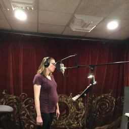 Lorelei in studio two .JPG