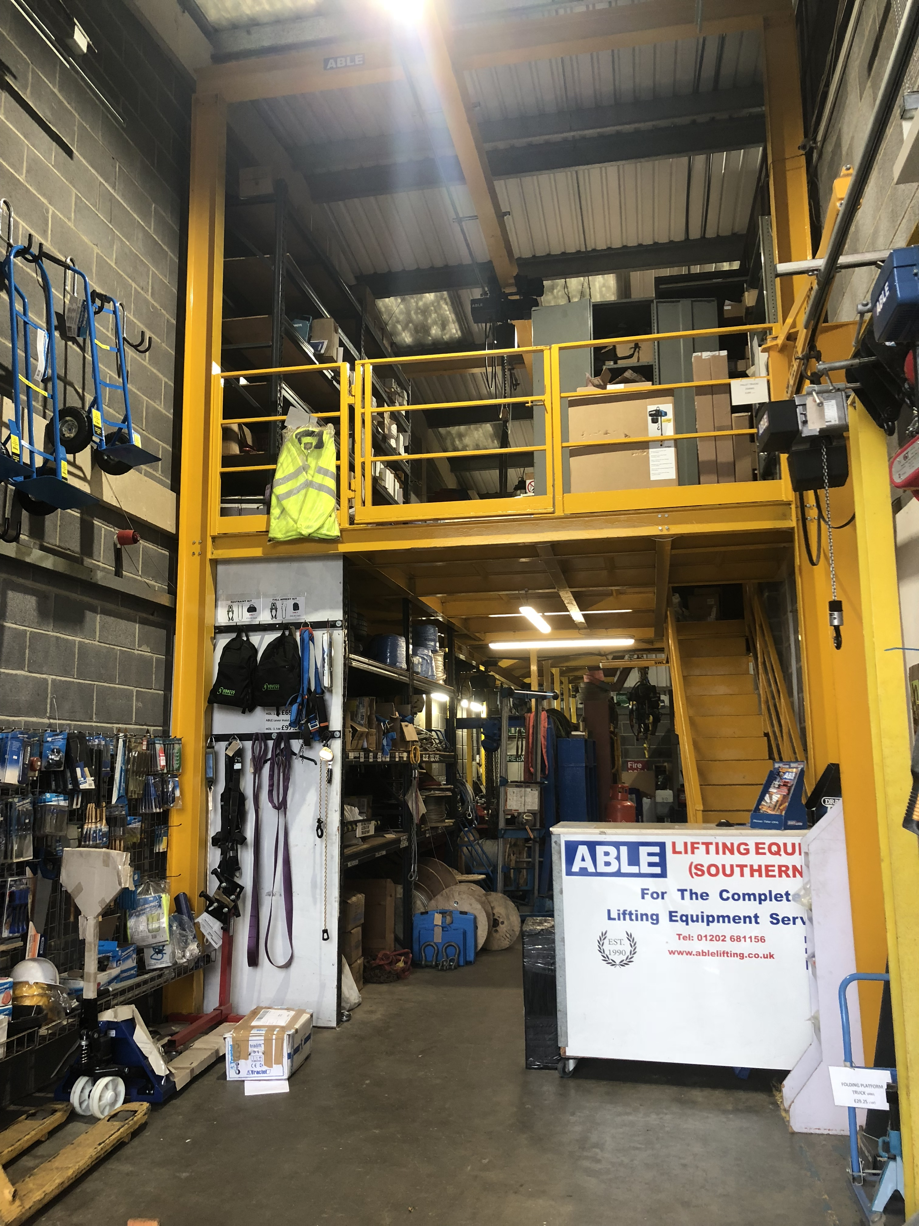 Gallery | Poole | Able Lifting Equipment (Southern) Ltd