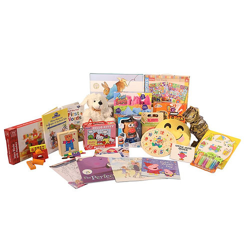Girls Family Toy Hamper 0-3 Years