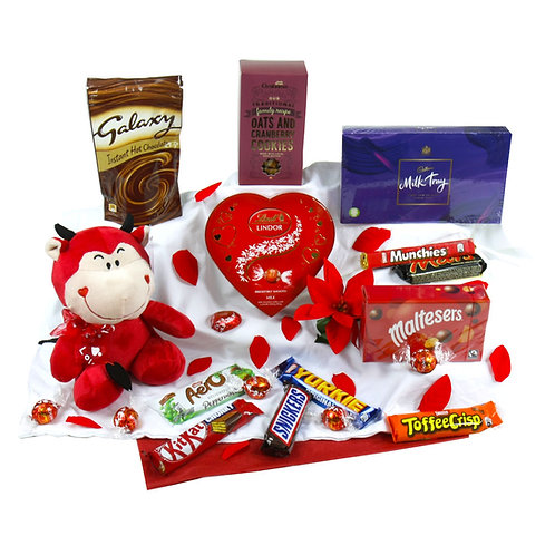 Valentine Devil Hamper of Sweet Treats