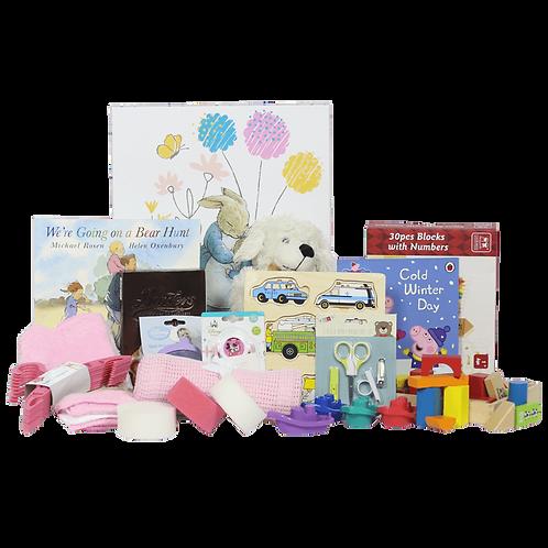 Premium Baby Girl Hamper - 0 to 12 Months