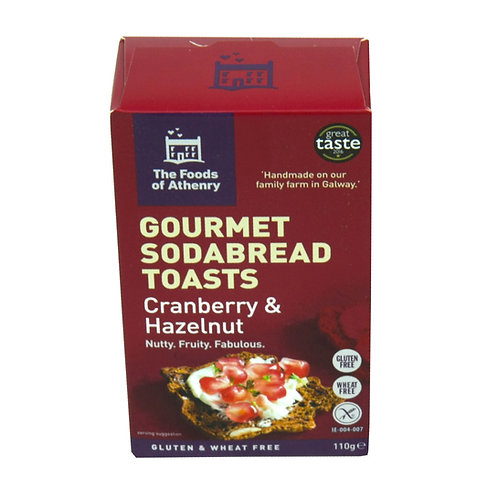 12 x The Foods of Athenry - Gourmet Sodabread Toasts - 110g