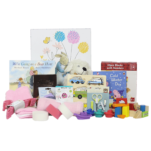 Premium Baby Girl Hamper - 0 to 12 Months