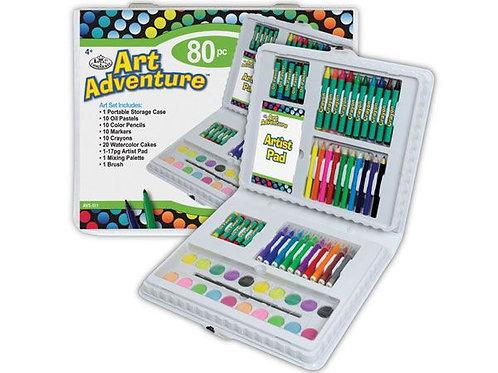 Art Adventure 80pce Set