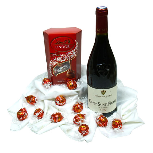Wix - Wine and Chocolate