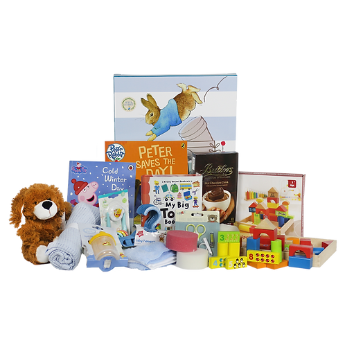 Premium Baby Boy Toy Hamper - 0 to 12 Months