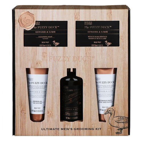 Baylis & Harding The Fuzzy Duck Men's Ginger & Lime 5 Piece Gift Set