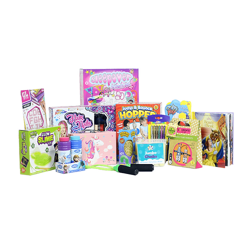 Premium Girls Toy Hamper - 5+ Years